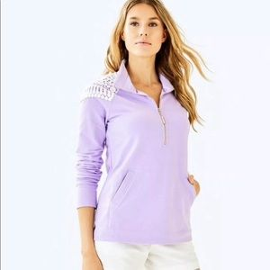 [Lilly Pulitzer] Lilac Skipper Solid Popover